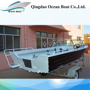 Factory Supply 4.2m Runabouts Aluminum Fishing Yacht pictures & photos