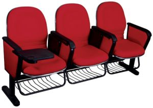 Small Size Plastic Shell Cinema Seating Chair with Wire Basket pictures & photos