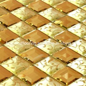 Diamond Glass Mirror Mosaic Tile (HD044) pictures & photos