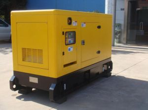 Cummins Diesel Generator, Silent, 22kw/27.5KVA