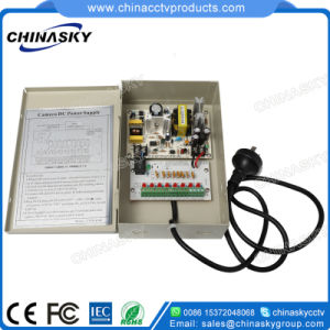 12V 4AMP 8 Channels CCTV Camera Power Supply with Ce (12VDC4A8P) pictures & photos