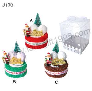 Christmas Towel Cake, Gift Cake Towel (J170)