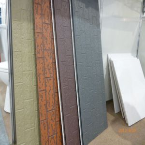 Pu Decorative Facade Wall Siding Panel Metal Emboss