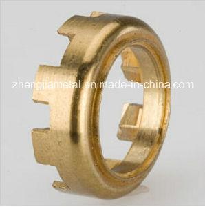 CNC Turning Machining Brass Lock Ring