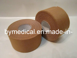 Skin Colour Strong Adhesive Rigid Rayon Sports Strapping Tape pictures & photos