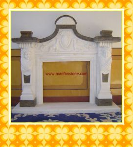 Fireplaces / Stone Fireplace / Granite and Marble Fireplace