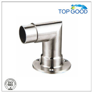 Stainless Steel 90 Degree Tube Connector with Plate pictures & photos