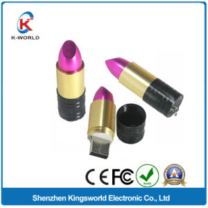Metal Lipstick 4GB USB Stick