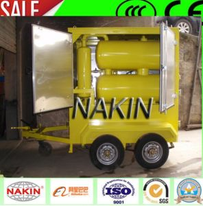 Mobile Trailer & Weather-Proof Type Hi-VAC Transformer Oil Filtration Machine pictures & photos