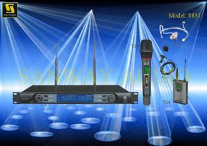 Double Channel Wireless Microphone 8831 pictures & photos