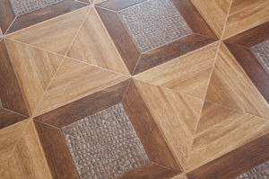 HDF Laminated Parquet Wooden Flooring with Crystal Surface- Lydl35 pictures & photos