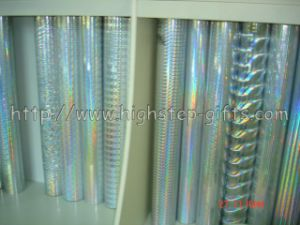 Holographic PVC Film (102-129) pictures & photos