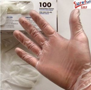 PVC Examination Gloves/Vinyl Examination Gloves M-4.0 pictures & photos