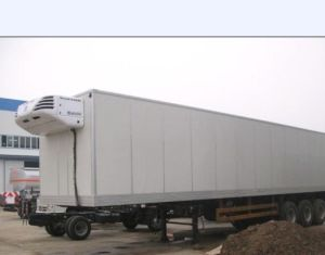Sinotruk 75cbm 6X4 Refrigerator Semi Trailer pictures & photos
