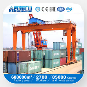 RMG Rail Mounted Double Girder Container Portal Gantry Crane pictures & photos
