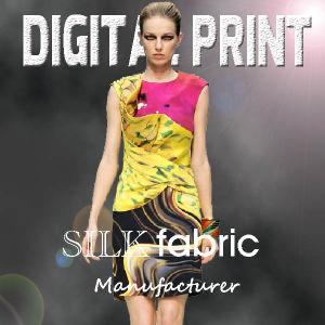 2017elegant Top Digital Printing on Silk pictures & photos