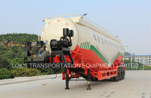 75cbm Bulk Powder Tanker Semi Trailer pictures & photos