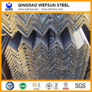 Q235 A36 Black Carbon & Galvanized Angle Steel Bar pictures & photos