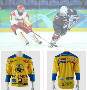 Dye Sublimation Ice Hockey Shirts pictures & photos