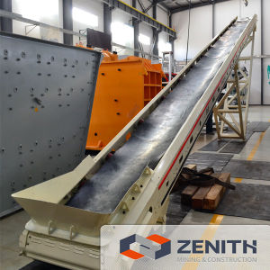 Belt Conveyor Available for Crushing Plant, Rubber Conveyor Belt pictures & photos
