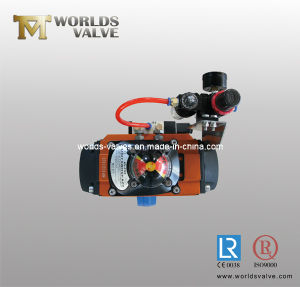 Pneumatic Wafer Butterfly Valve with Positioner (D67X-10/16) pictures & photos