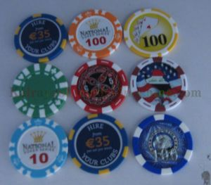 Golf Ball Markers Magnetic OEM Mk027