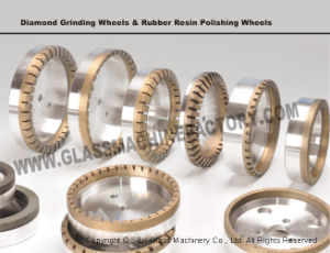 Sanken CE Glass Diamond Wheel for Glass Polishing pictures & photos