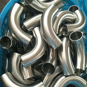 3A Stainless Steel Sanitary Welded Elbow pictures & photos