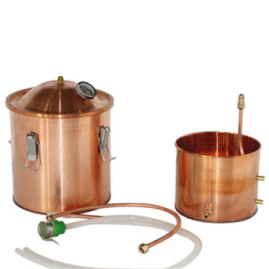 18L 5gallon Multifunction Copper Alcohol Distiller Rum Red Wine Whiskey Brandy Home Making Distillation Kit pictures & photos