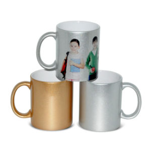 Fashion Hotsale Customed Ceramic Silver Mug Dye Sublimation Mugs Wholesale pictures & photos