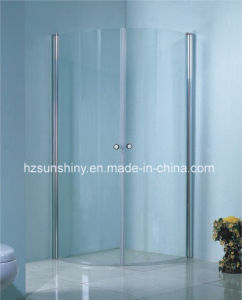 Classic White Shower Screen CE Approved (SW-8351)