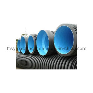 HDPE/PP/PVC Large Diameter Double-Wall Corrugated Pipe Production Line pictures & photos
