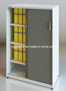 ISO Certificate Metal Slidng Door Filing Cabinet (SV-SL1357) pictures & photos
