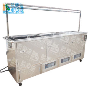 Blind Ultrasonic Washing Machine of Double Tank, 2.5m Length