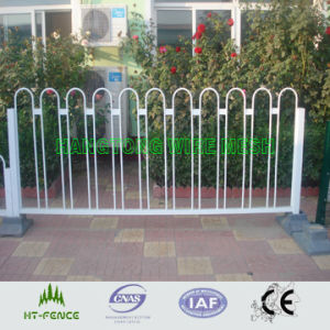 Round Tube Bow Top Municipal Temporary Fence