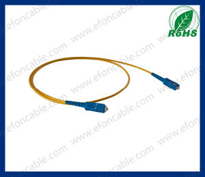 Fiber Optic Jumper Wire Patch Cord Sc-Sc Single Mold pictures & photos