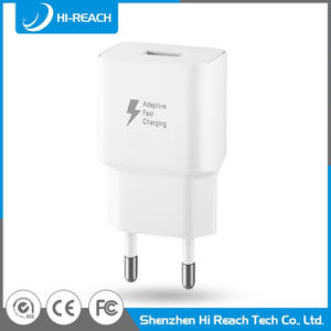Cheapest Fast 5V/9V EU Battery Travel Mobile Phone USB Charger for Samsung pictures & photos