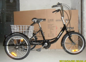 "Hot Sale Old People 20"" Cargo Tricycle (FP-TRCY031) pictures & photos"