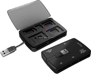 USB2.0 78 in 1 Cardreader with Collecting Box / USB Gift (HE-623A)