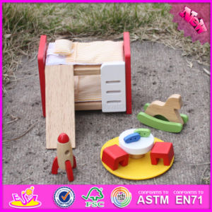 2016 Wholesale Baby Wooden Small Furniture Toy, New Design Kids Wooden Small Furniture Toy, Wooden Small Furniture W06b043 pictures & photos