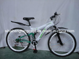 White Suspension Mountain Bicycle for Hot Sale MTB-059 pictures & photos