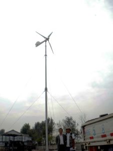 Home Pmg Horizontal Axis 3kw Wind Turbine Generator (MSFD3000)