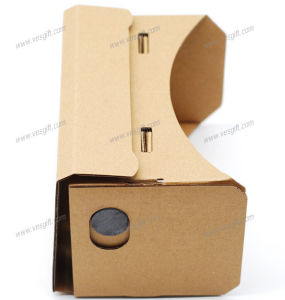 Customized Pirnting Vr Google Cardboard V2 with 37mm Lens pictures & photos