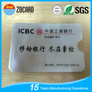 Aluminum Foil Paper RFID Blocking Card Holder for IC Card pictures & photos