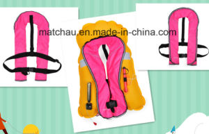 Marine Ce Approved Single Air Chamber Inflatable Life Jacket pictures & photos