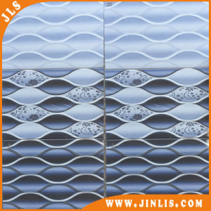 Building Material 2540 Blue Wave Design Rustic Ceramic Wall Tile pictures & photos