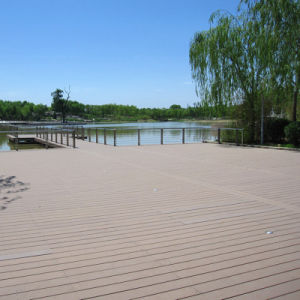 WPC Outdoor Flooring Wood Plastic Composite Decking with Ce (M19) pictures & photos