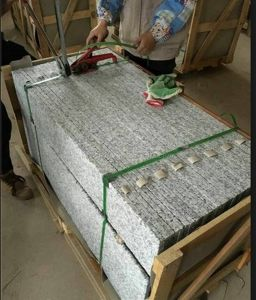 Natural Stone Polished G439 Grey Granite Staircase pictures & photos