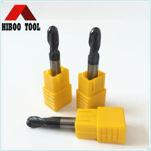 Populared Carbide Ball Nose End Mills with 2 Flutes pictures & photos