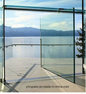 Clear Frameless Toughened Glass Door Panel with Australian Certificate pictures & photos